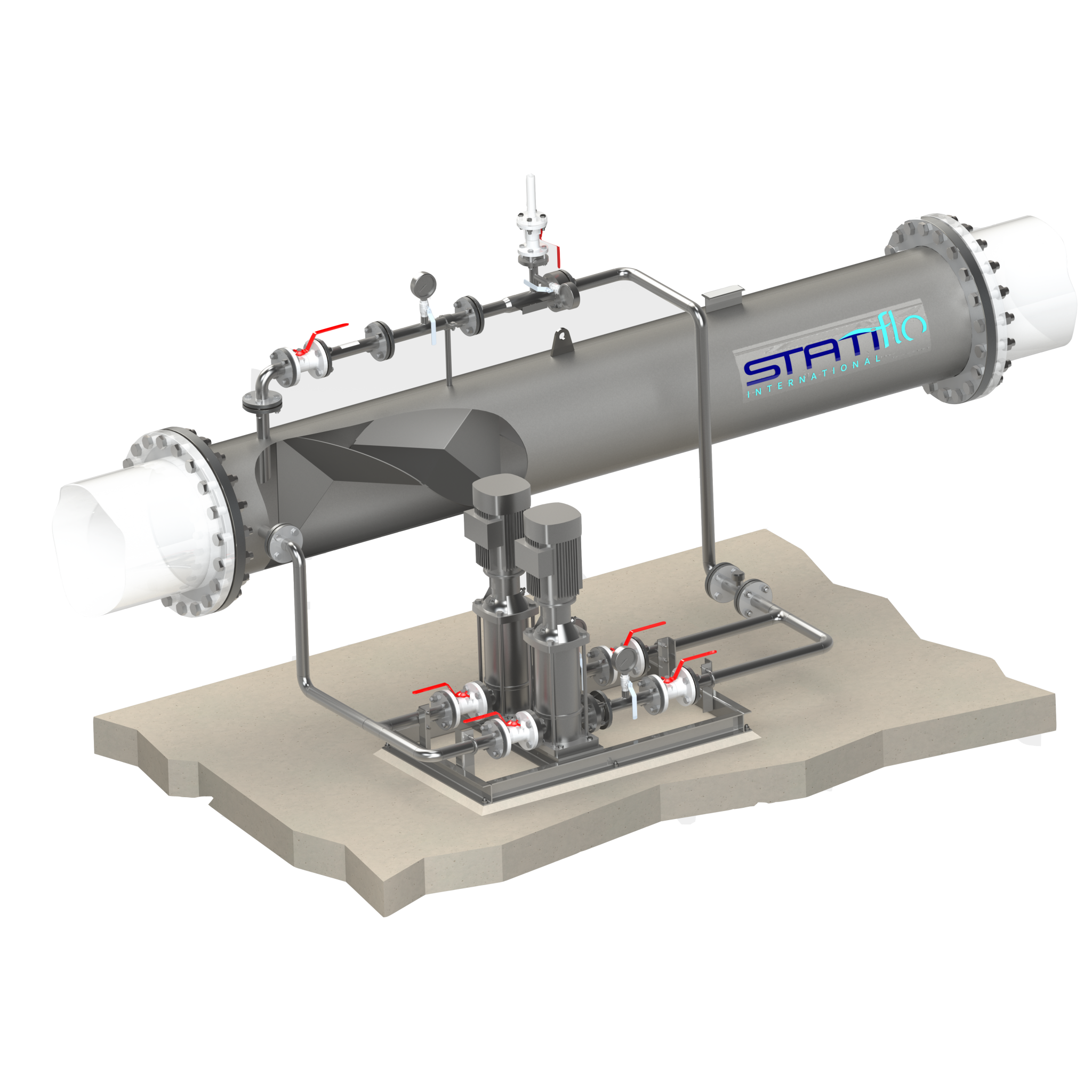 Statiflo GDS is the Equipment of Choice for Ozone Generator