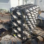 Installation Of Possibly The Largest Static Mixer In The World
